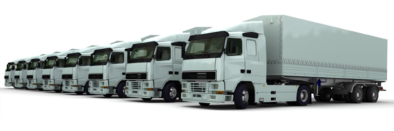 Fleet of Lorries